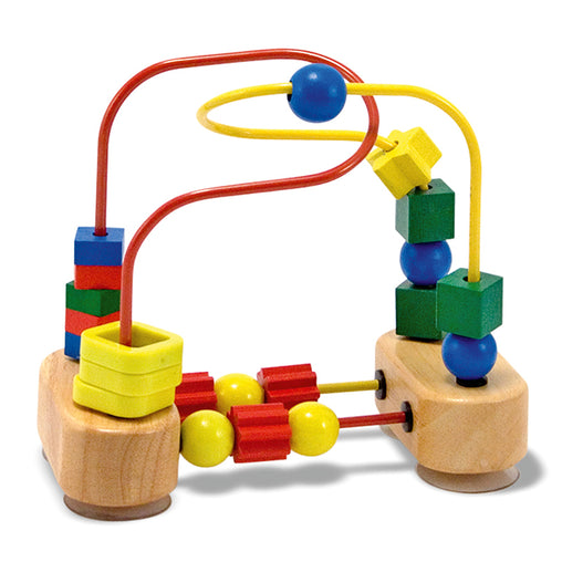 Melissa & Doug First Wooden Bead Maze Toy