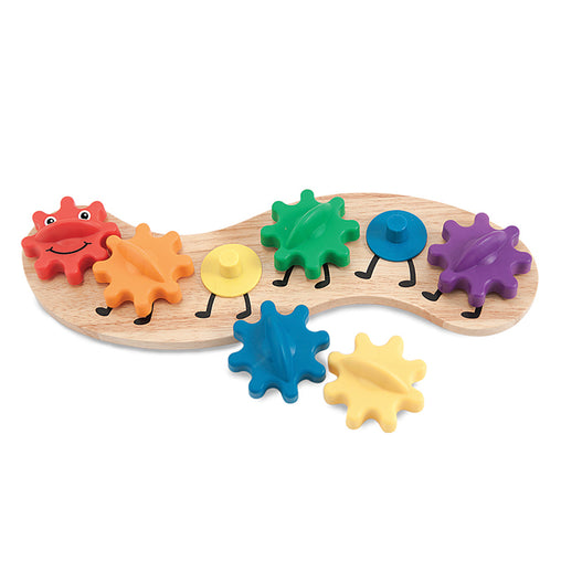 Melissa & Doug Rainbow Caterpillar Gears