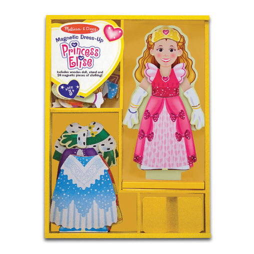 Melissa & Doug Princess Elise Magnetic Dress Up Packaging