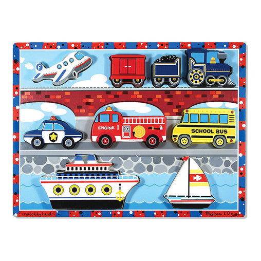 Melissa & Doug Puzzle Chunky Vehicles