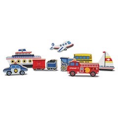 Melissa & Doug Puzzle Chunky Vehicles Pieces