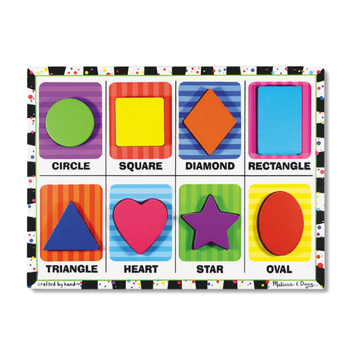 Melissa & Doug Puzzle Chunky Shapes