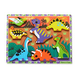 Puzzle Chunky Dinosaurs