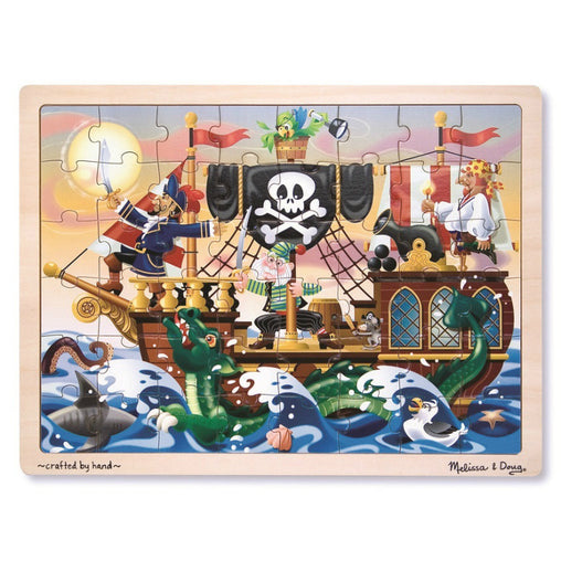 Melissa & Doug Jigsaw Puzzle Pirate Adventure 48 Pieces