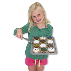 Melissa & Doug Slice & Bake Cookie Set Girl with Tray