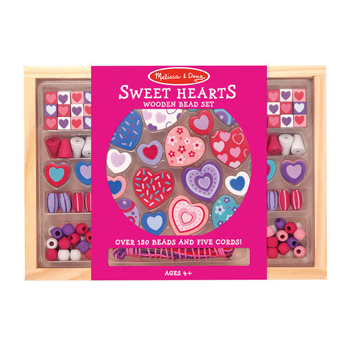 Melissa & Doug Hearts Bead Set Packaging