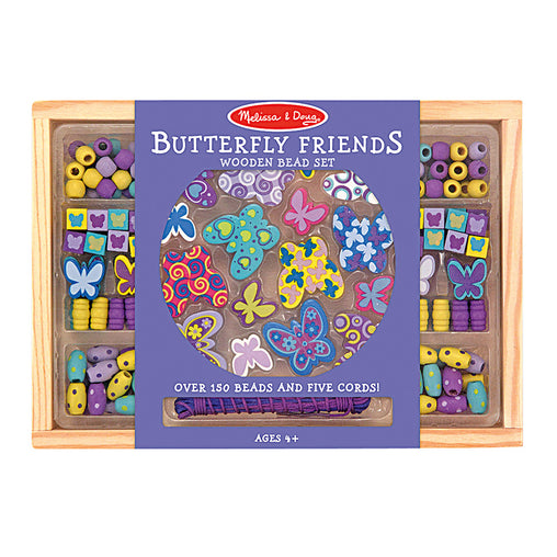Melissa & Doug Butterfly Friends Bead Set Packaging