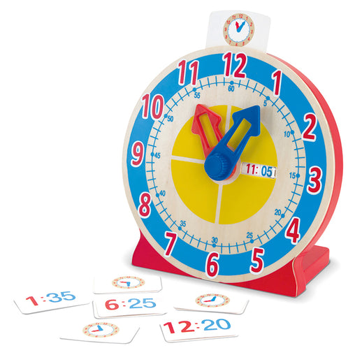 Melissa & Doug Turn and Tell Wooden Clock
