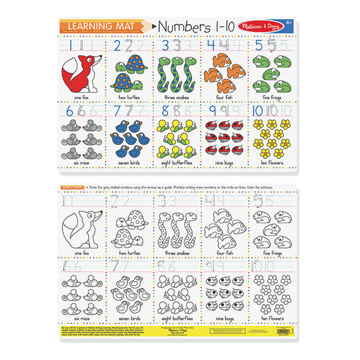Melissa & Doug Write-a-Mat Numbers