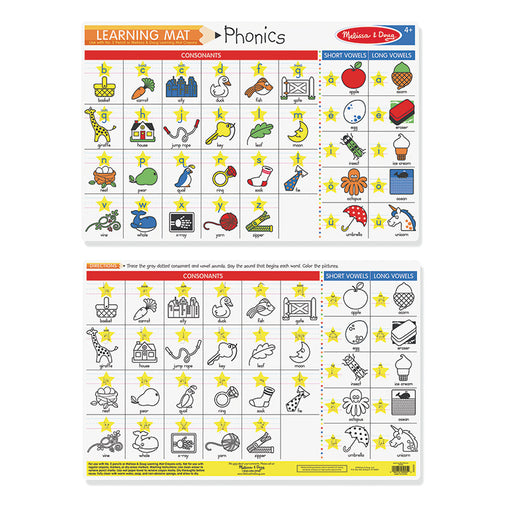 Melissa & Doug Write-a-Mat Phonics