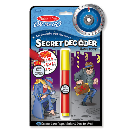 Melissa & Doug On the Go - Secret Decoder Game Book