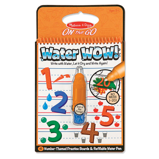 Melissa & Doug On the Go - Water Wow - Numbers Travel Activity Set