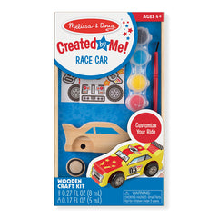 Melissa & Doug Decorate Your Own Race Car Packaging