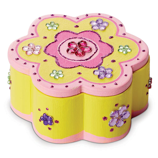 Melissa & Doug Wooden Flower Box Decorate Your Own