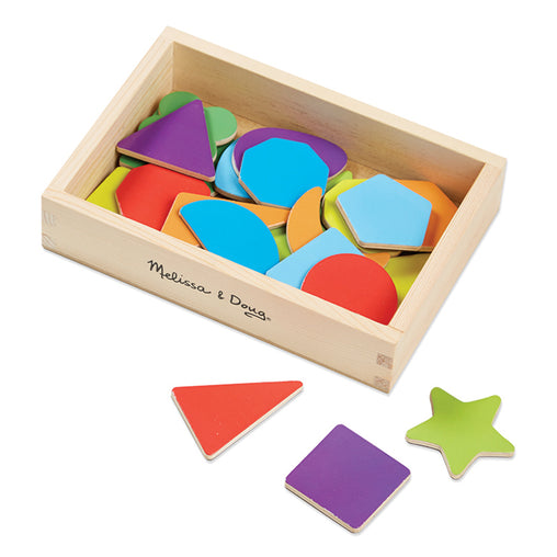 Melissa & Doug Magnets Shapes Box of 25