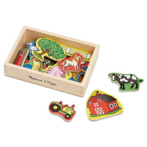 Melissa & Doug Magnets Farm Box of 20