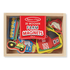 Melissa & Doug Magnets Farm Box of 20 Packaging