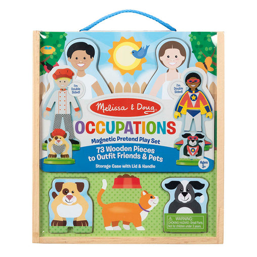 Melissa & Doug Occupations Magnetic Dress Up Play Set