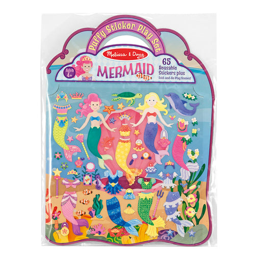 Melissa & Doug Puffy Stickers Mermaid Play Set