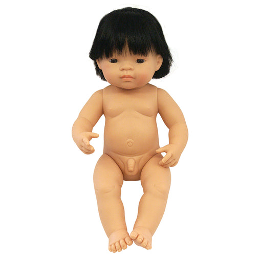Miniland Doll Asian Boy 38cm (Undressed)