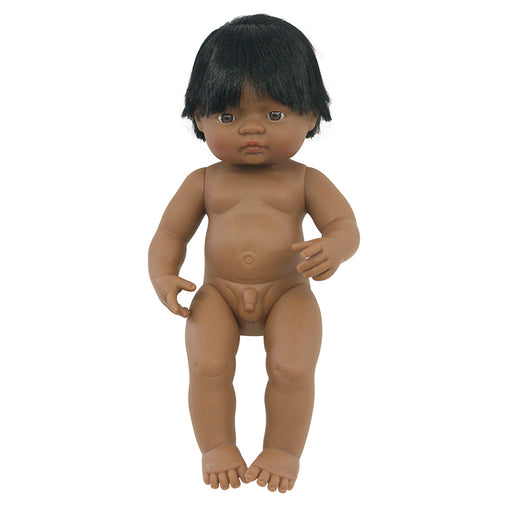 Miniland Doll Latin American Hispanic Boy 38cm (Undressed)