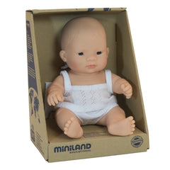Miniland Doll Asian Girl 21cm Packaging