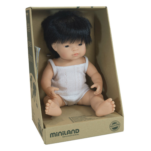 Miniland Doll Asian Boy 38cm