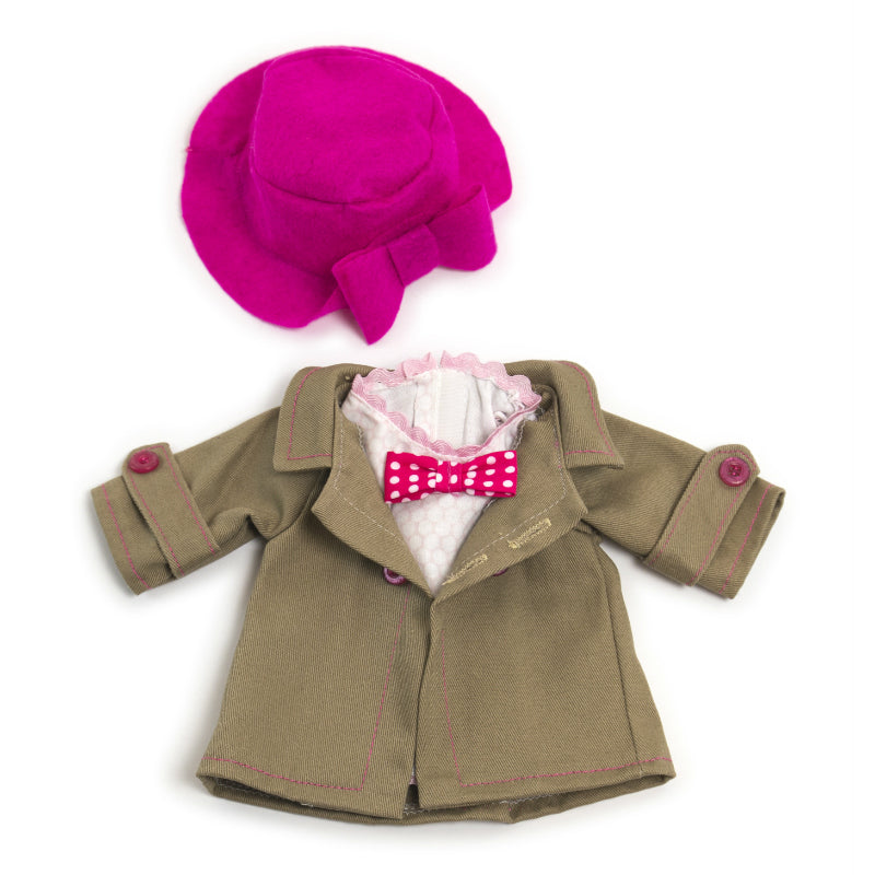 Miniland Autumn Hat Clothing Set (32cm Doll)