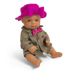 Miniland Autumn Hat Clothing Set (32cm Doll) 2
