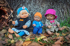 Miniland Autumn Hat Clothing Set (32cm Doll) 3