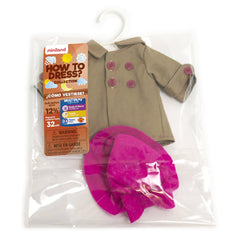 Miniland Autumn Hat Clothing Set (32cm Doll) Packaging