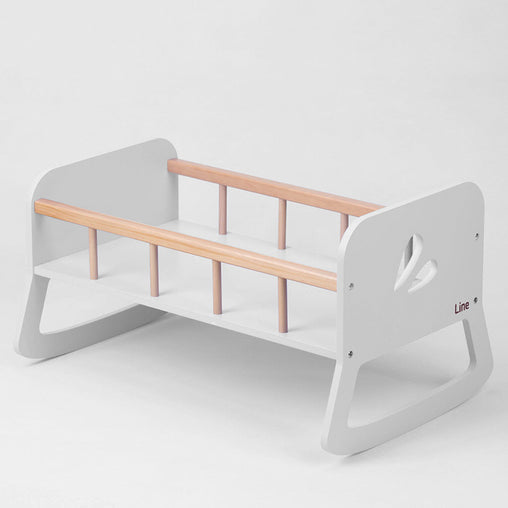 Line Dolls Cradle White