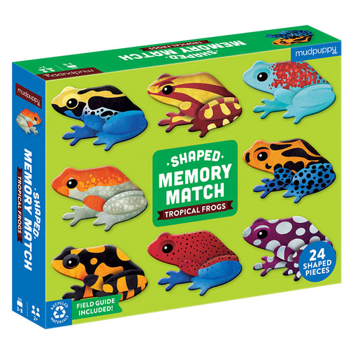 Mudpuppy Memory Match Game Tropical Frogs