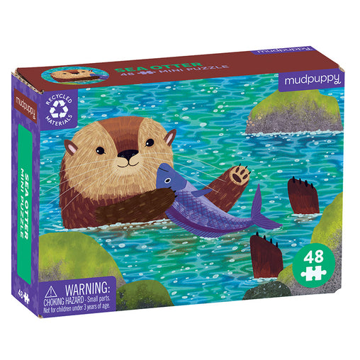 Mudpuppy Mini Puzzle Sea Otter 48 Pieces