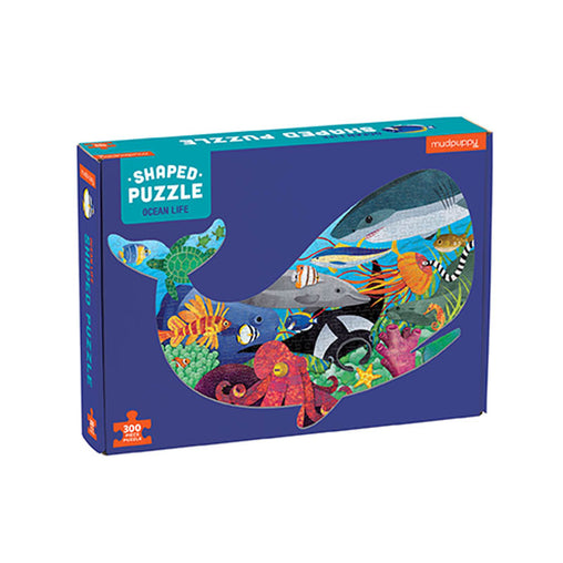 Mudpuppy Ocean 300 Piece Shape Puzzle in Box