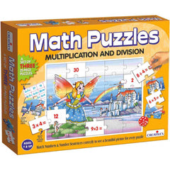 Creatives Math Puzzles Multiplication & Division