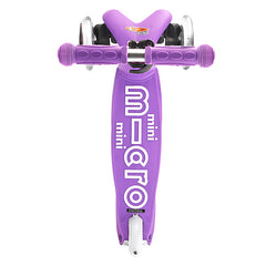 Mini Micro Scooter Deluxe Purple Top View