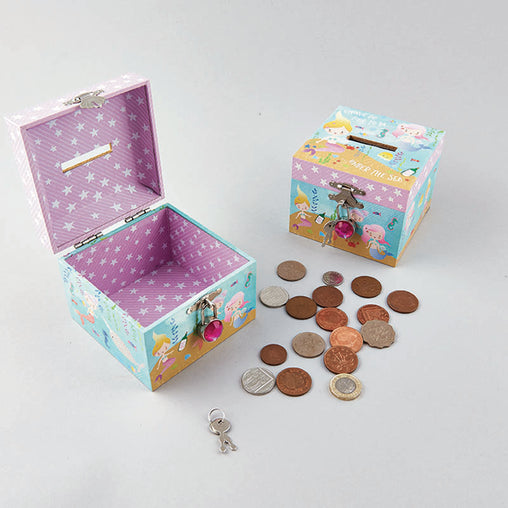 Floss & Rock Money Box Mermaid