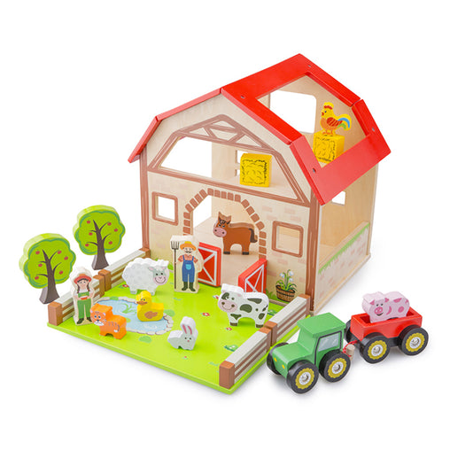 New Classic Toys Farm Play Set