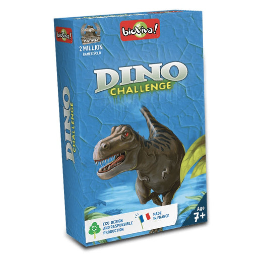 Bioviva Dinosaur Challenge Card Game Packaging