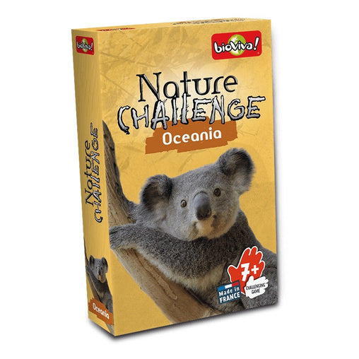Bioviva Oceania Nature Challenge Card Game Packaging
