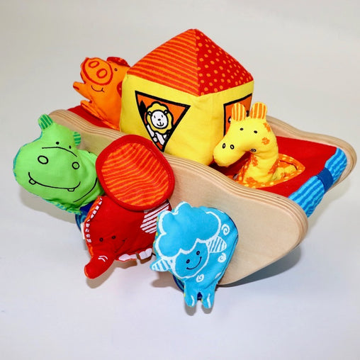 Noah Activity Ark I'm Toy Animals Baby Toddler Wooden Toy EcoToy