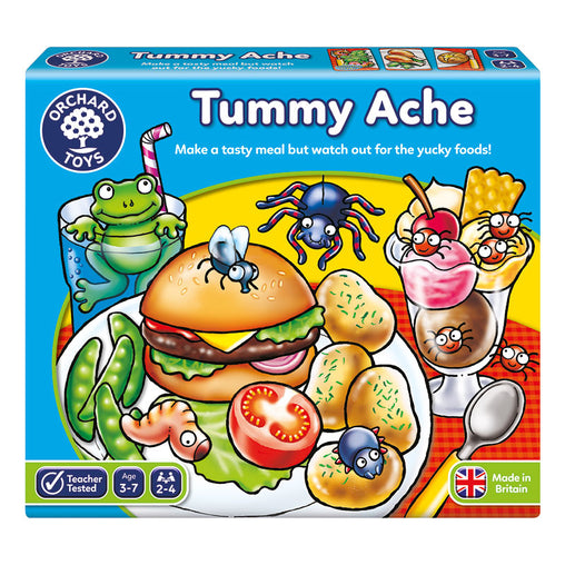 Orchard Toys Tummy Ache Game Packaging
