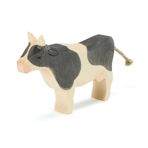 Ostheimer Wooden Cow Black & White Standing
