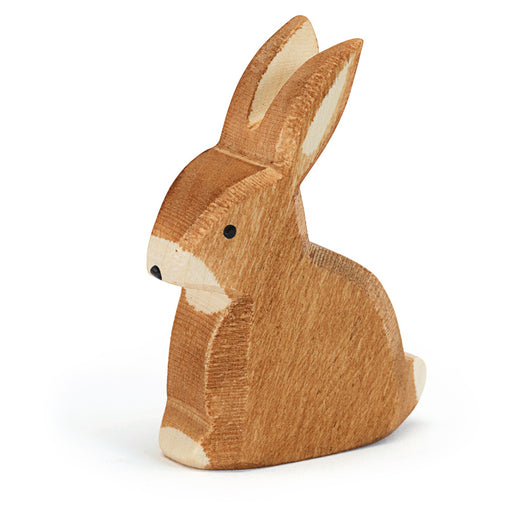 Wooden Sitting Rabbit