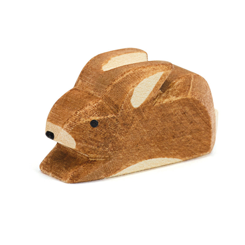 Ostheimer Wooden Rabbit Brown Small