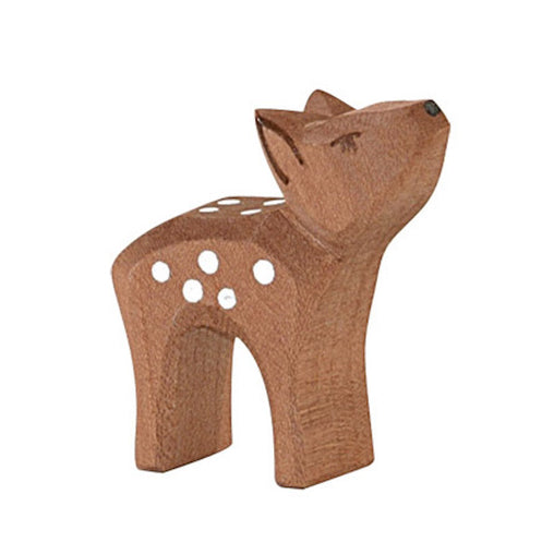 Ostheimer Wooden Small Deer with Head High