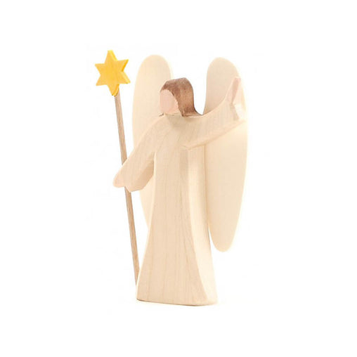 Ostheimer Wooden Angel with Star Small