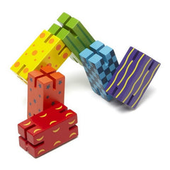 The Original Toy Company Whatzit Wooden Fidget Toy 3