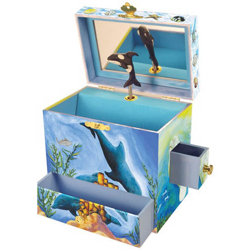 Enchantmints Musical Treasure Box Ocean Friends
